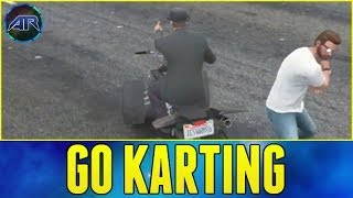 Grand Theft Auto 5 Online : Go Kart Racing - Part 2(, 2014-04-17T17:30:01.000Z)