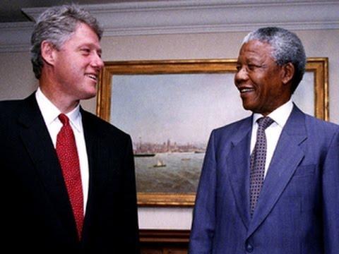 Pres. Clinton remembers his friend, Nelson Mandela