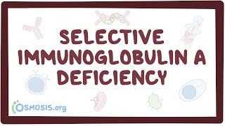 Selective immunoglobulin A deficiency