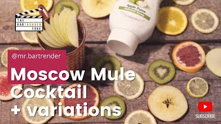 Moscow Mule + variations | The BarTrender Tube