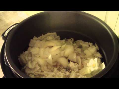 Southern style cooked cabbage power pressure cooker xl