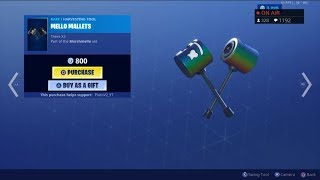 *NEW* MELLO MALLETS! July 26 New Skins - Fortnite Item Shop Live (Fortnite Battle Royale)