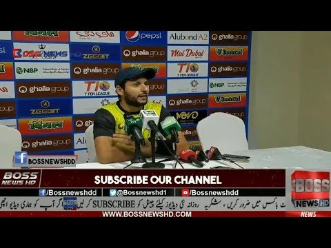 Shahid Afridi and Wasim Akram Wants T10 Cricket In The Olympics