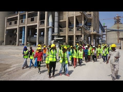 National Cement Factory in Dire Dawa has created job opportunities for  hundreds of city's residents
