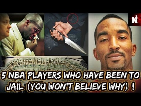 5 NBA Players Who Have Been To Jail (You Won't Believe Why) !