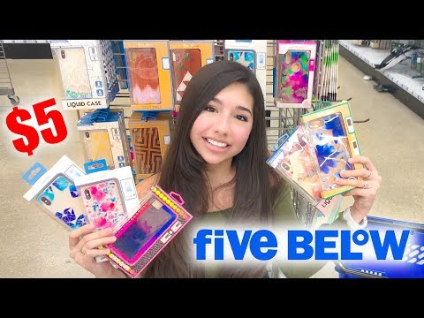 iPhone Case Shopping at Five Below!