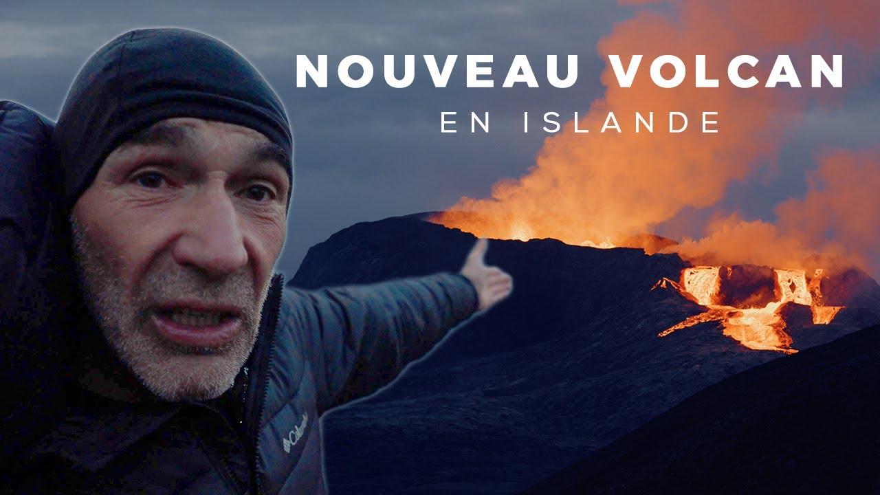 J'explore le nouveau volcan islandais ! 🇮🇸 (c'est totalement incroyable)