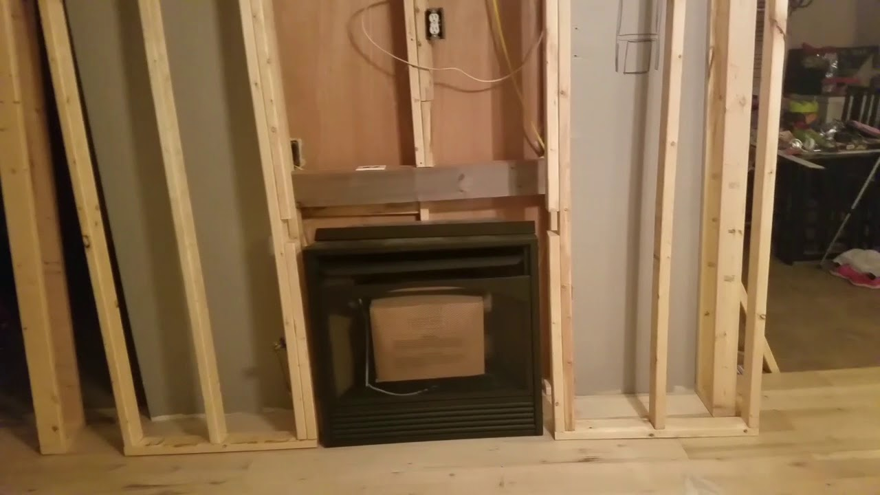 Framing Gas Fireplace Exterior Wall - Architecture Home ...