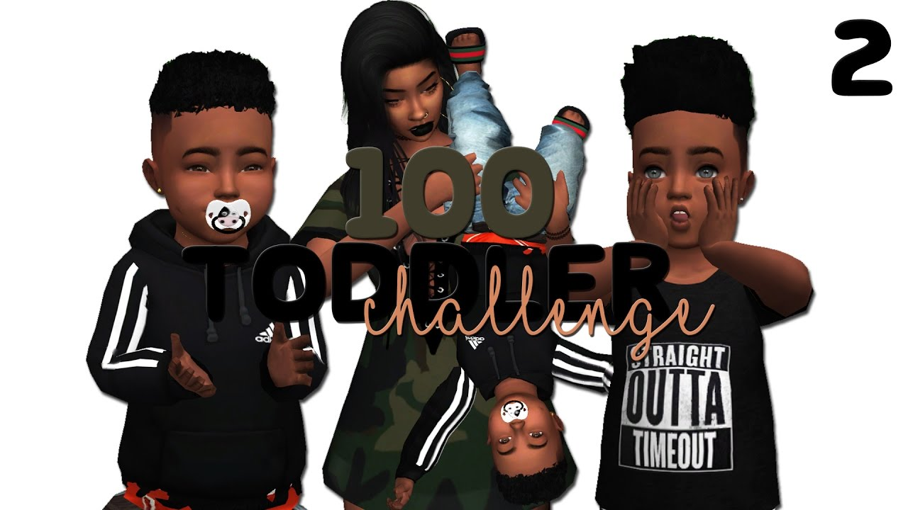 Toddler Love 100 Toddler Challenge The Sims 4