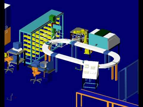 U of M Reconfigurable Manufacturing Simulation Project C