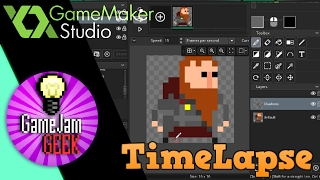 Game Maker Timelapse - Процесс создания графики для RogueLike Игры