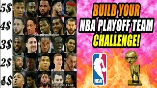 BUILD YOUR NBA PLAYOFF TEAM CHALLENGE! CAN YOU GO UNDEFEATED? NBA 2K17 MY LEAGUE