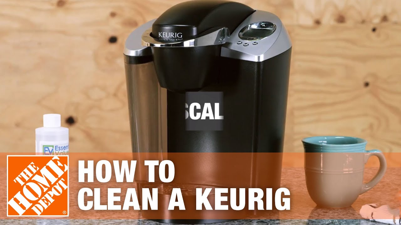 How To Clean A Keurig The Home Depot Youtube