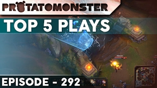League of Legends Top 5 Plays Week 292   Ft. Insane Skillshot Dodging and Leblanc Outplays