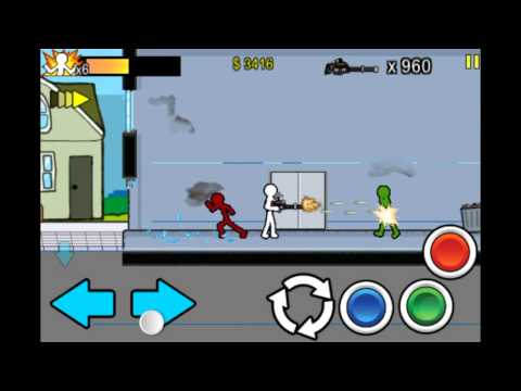 Anger of Stick 2 - Round 14 - Gameplay on iPod touch