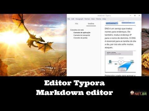 Typora: Crie documentação linux de modo profissional