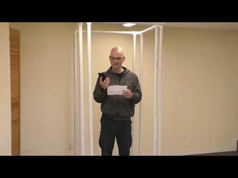 Cheap DIY PVC Vocal Booth - Part 1