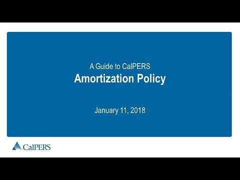A Guide to CalPERS Amortization Policy