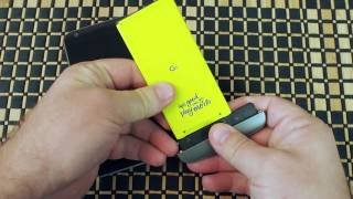 LG G5 battery swap — modular design FTW!