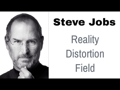 Steve Jobs' Reality Distortion Field - YouTube