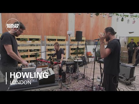 Howling Boiler Room LIVE Show performing 'Howling'