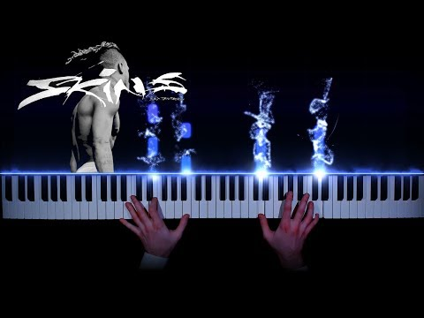 XXXTENTACION - Staring At The Sky - piano cover   tutorial   how to play