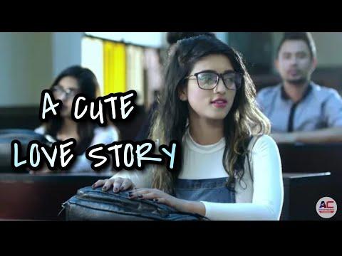 Prada: A cute love story || HAR SAAH UTTE NAAM BOLE TERA || School love story