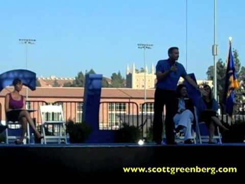 Scott Greenberg Addresses 6000 Students at UCLA