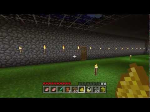 Minecraft Xbox 360 Underground Animal Farm Tutorial