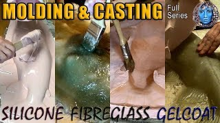 Molding & Casting | Silicone | Fibreglass | Gelcoat | Full Series