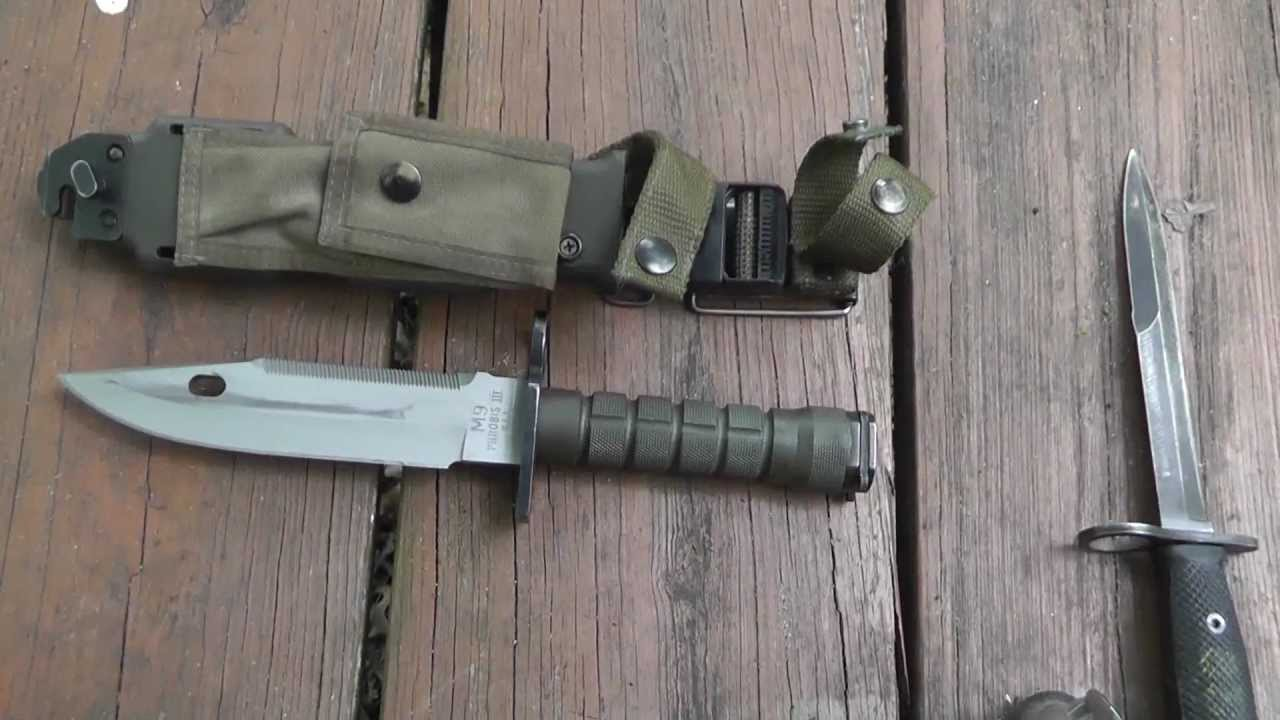Phrobis Us Military M9 Bayonet Youtube