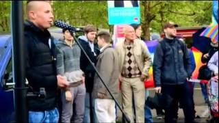 Mahnwache für den Frieden / Montagsdemo Köln 2014 Part 2
