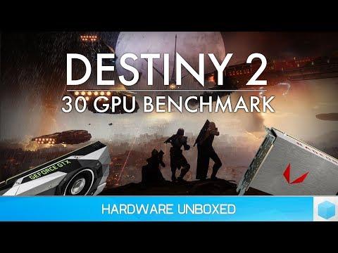 Destiny 2 Beta Benchmark: 30 GPUs Tested @ 1080p, 1440p & 4K