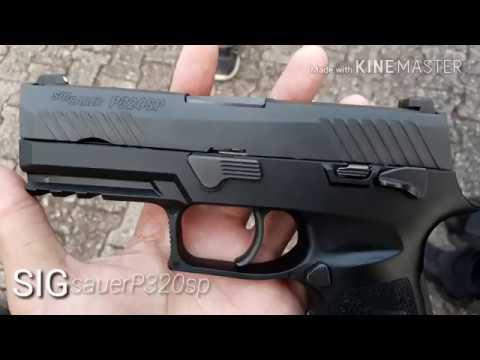 SIG sauer P320 sp (ปืนซิกซาวเออร์ รุ่น พี320) ปืนสวัสดิการตำรวจ ราคา23,000 สวยมากๆๆ