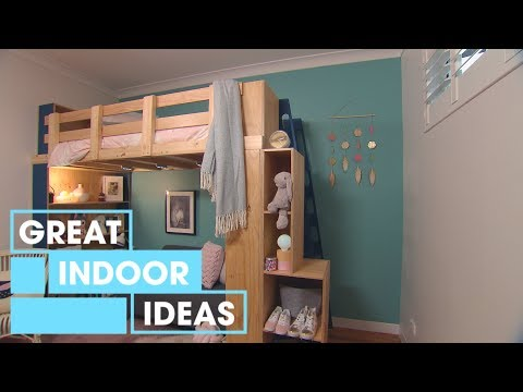 How to Build a Loft Bed | Indoor | Great Home Ideas