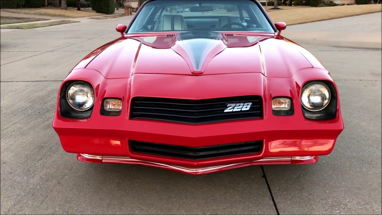 1981 Camaro Z28 For Sale 16 500 Dallas Tx Car Collection
