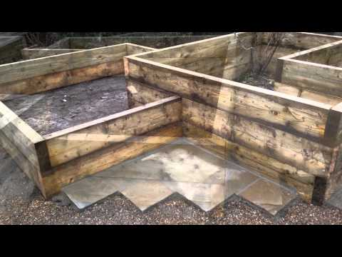 How To Build A Vegetable Garden In Raised Beds Using Wooden Boxes