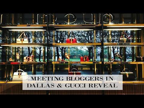 Meeting Dallas Bloggers & Gucci Handbag Reveal | Adaleta Avdic