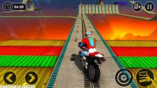 Impossible Motor Bike Tracks - Android GamePlay 2017