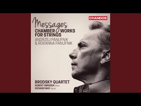 """String Quartet No. 2 """"Messages"""": Adagio Misterioso - Andante Cantabile -"""