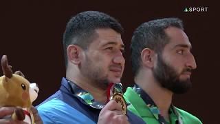 Mukhsin Khisomiddinov Kurash Gold medal winner   28 08 2018 AsianGames