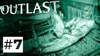 Outlast (PS4) Прохождение игры [Безумные эксперименты Доктора] Часть 7 ✔ Русская озвучка