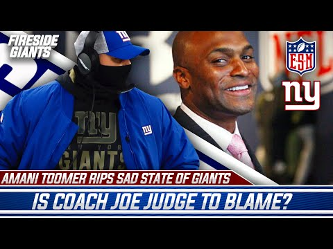 Amani Toomer rips sad state of the Giants   Is Joe Judge to blame?