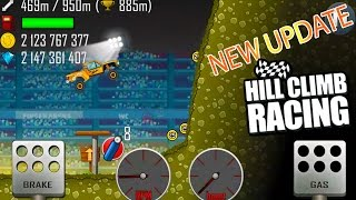 Hill Climb Racing - (NEW UPDATE 1.33) New Car TROPHY TRUCK and New Map ( Arena ) Full Upgrade 2017