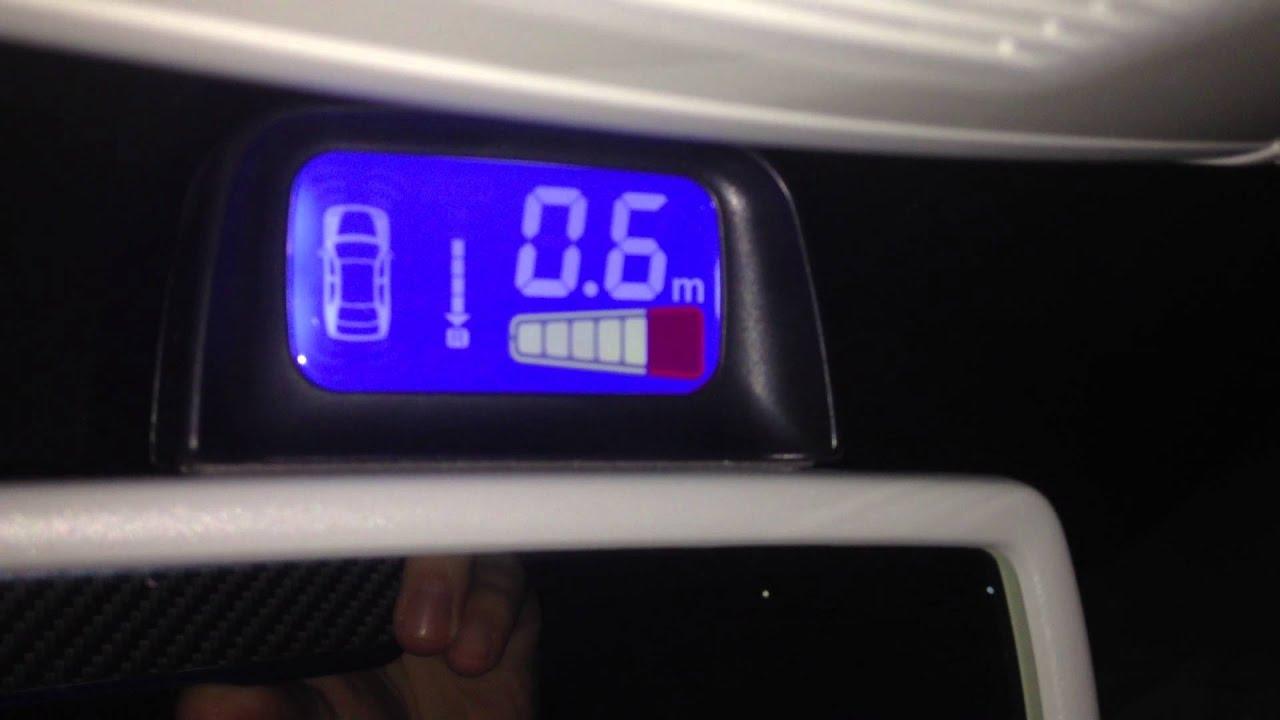 valeo beep park 5 parking sensor system youtube. Black Bedroom Furniture Sets. Home Design Ideas
