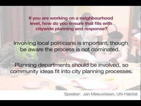 Urban webinar: Engaging Communities in Urban Areas