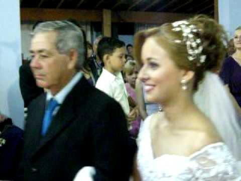 Casamento Denise E Tiago - Entrada Da Noiva