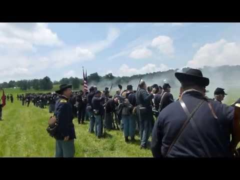 Gettysburg 150th Reenactment First Person POV (BGA)
