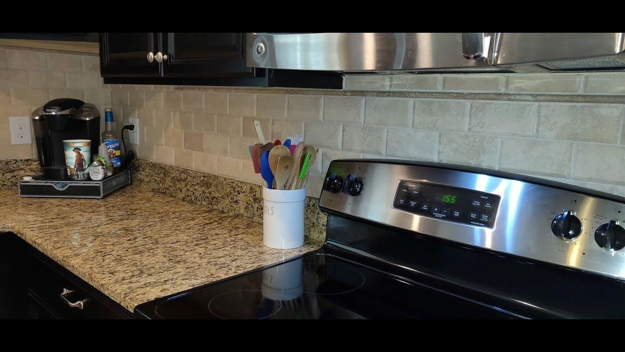 Grouting Kitchen Backsplash Tile