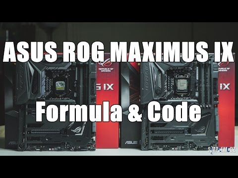 ASUS ROG Maximus IX Formula & Code - Full Overview